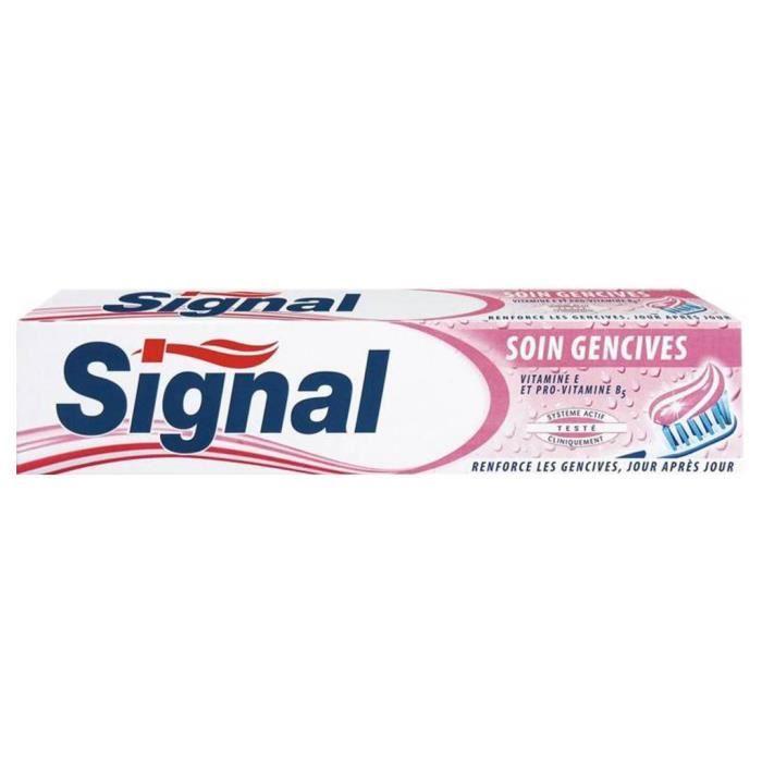 DENTIFRICE Signal Dentifrice Soin Gencives 75ml (lot de 6)