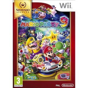 JEU WII Mario Party 9 Selects Jeu Wii