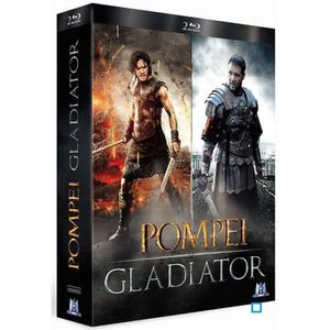 BLU-RAY FILM Blu-ray Pack Pompéi + Gladiator - Edition Limitée