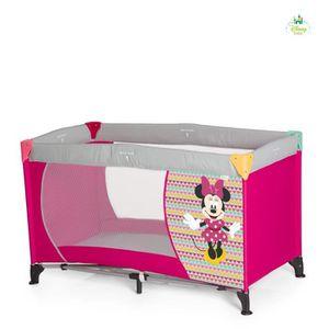 LIT PLIANT  MINNIE Lit Parapluie Bébé Dream'n Play Geo Pink -