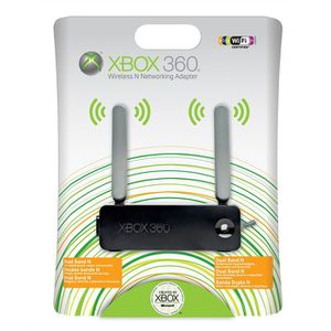 CHARGEUR CONSOLE WIRELESS N NETWORKING ADAPTER XBOX 360