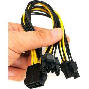 CARTE GRAPHIQUE INTERNE Câble d'alimentation pour carte vidéo graphique PC