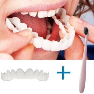SOIN BLANCHIMENT DENTS Sourire temporaire des dents Comfort Fit cosmétiqu