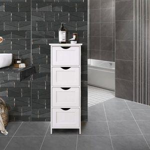 MEUBLE BAS COMMODE SDB Huansee Meuble de salle de bain multi-fonctionnel
