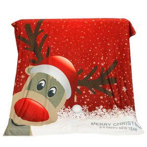 COUVERTURE - PLAID Couverture de lit de sofa de tissu de flanelle de