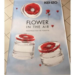 Poster Cm Kenzo Flower In Air 120x175 The Abribus Affiche 5Ljc34qRA