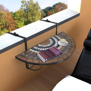table balcon achat vente table balcon pas cher cdiscount. Black Bedroom Furniture Sets. Home Design Ideas