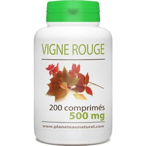 CIRCULATION SANGUINE Vigne Rouge - 500 mg - 200 comprimés