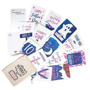 COFFRET CADEAU SOUVENIR Lot de 50 Cartes Étapes Mixtes Souvenirs de la 1èr