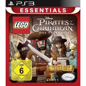 JEU PS3 LEGO PIRATES OF THE CARIBBEAN - ESSENTIALS [IMP…