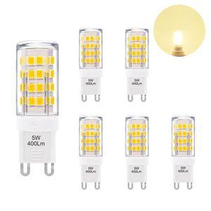 AMPOULE - LED Petite Lampe Ampoule LED G9 GU9 5W 400Lm Economiqu