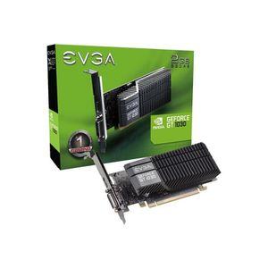 CARTE GRAPHIQUE INTERNE EVGA Carte Graphique EVGAGeForce GT 1030 - 2 Go GD
