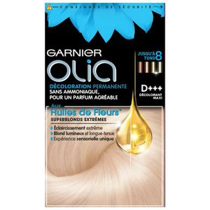 COLORATION GARNIER Olia superblonds d+++ décoloration maxi