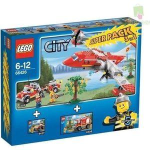 ASSEMBLAGE CONSTRUCTION Caserne de pompiers LEGO City set 3 en 1 super …