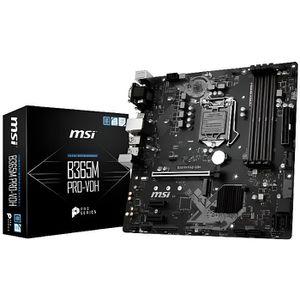 CARTE MÈRE Carte mère MSI B365M-PRO-VDH M ATX / 4DDR4 / VGA /