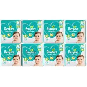 COUCHE Pampers Baby Dry Taille 5 Junior 11-16kg 240 Couch