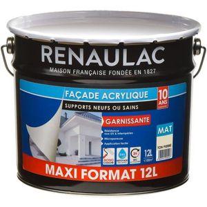 PEINTURE - VERNIS RENAULAC Peinture façade acrylique monocouche - To