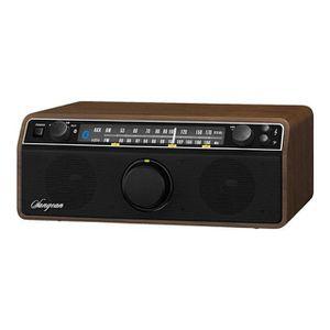RADIO CD CASSETTE SANGEAN - WR-12BT - Radio Retro AM/FM, Bluetooth,