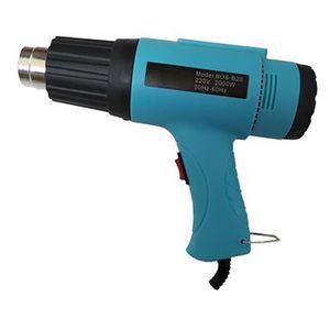 DÉCAPEUR AC 220V EU Plug 2000W Pistolet à air chaud multifo