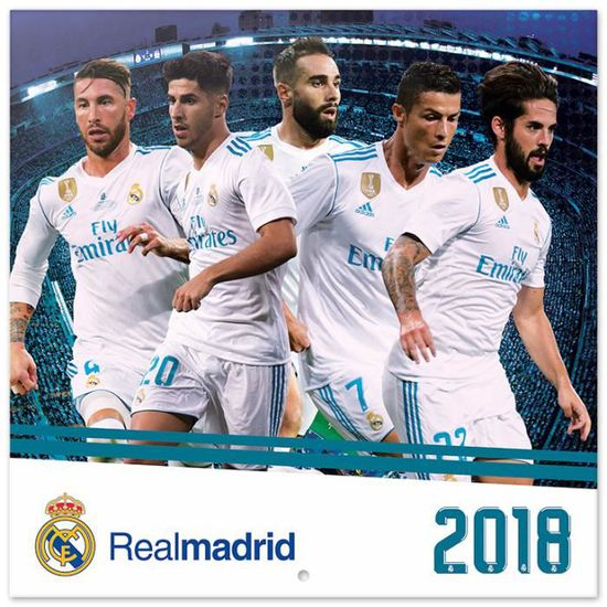 Calendrier Madrid.Calendrier 2018 Real Madrid