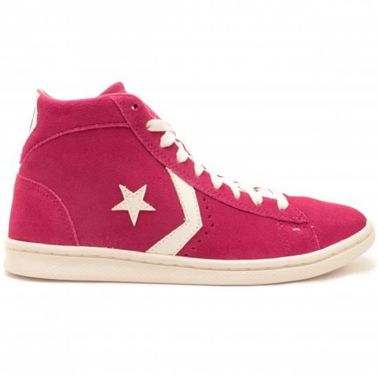 Converse - Pro Leather Mid  Wn  Rose - Achat / Vente basket