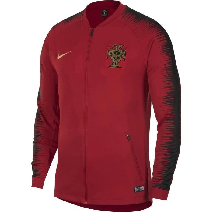 NIKE Sweatshirt de Football Anthem FPF - Homme - Rouge