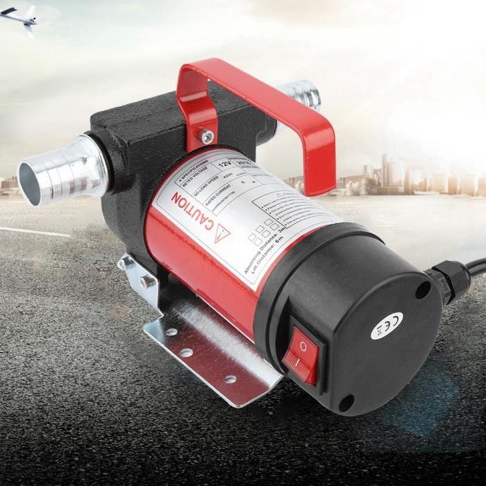 Cuque 12V 160W Pompe d'Aspiration d'Huile Portable 40L-Minute Pompe de Transfert Diesel-Huile pour Quad Auto Moto -YES HB042 -LEC