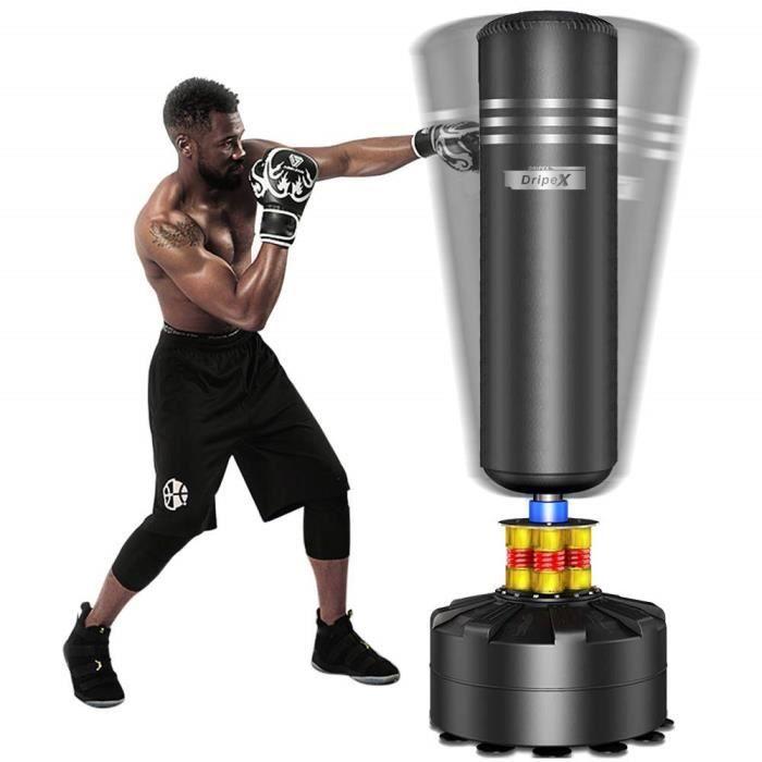 NEUF Sac de Frappe Debout Libre Punching pour Adultes Sac de Boxe avec Base de Ventouse