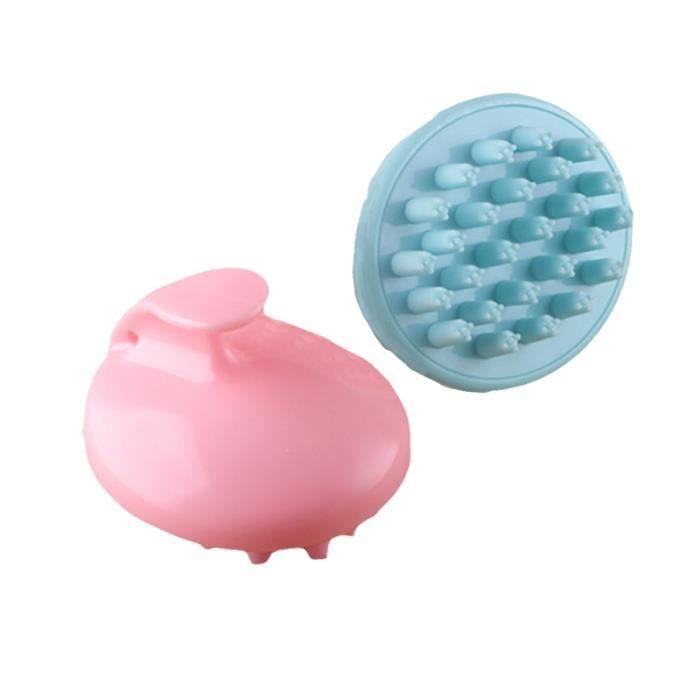 2 pièces brosses pour cuir chevelu Portable massage durable en plastique masseur brosse de toilettage de VAPOZONE - VAPEUR-OZONE