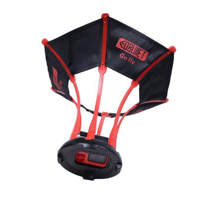 Pour GoPro Parachute oiseau mouche photographie support pour Gopro Hero 3456 noir cadre de caméra vue aérienne accessoires-X