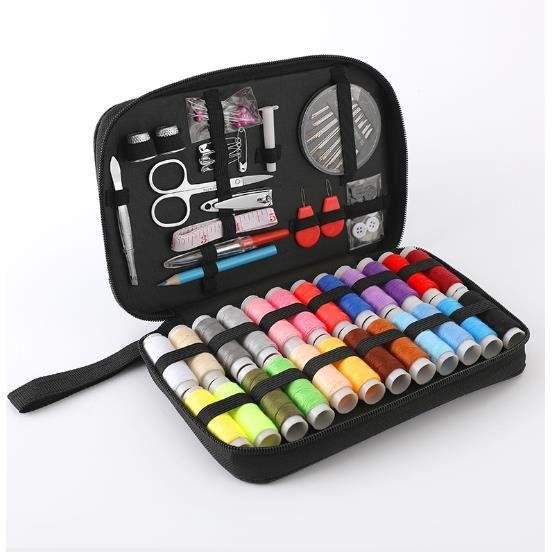 Kit de Couture Complet, Accessoires Professionnel Portable Set de Couture