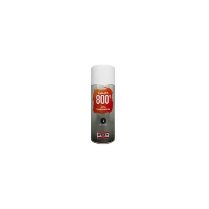Bombe de peinture haute température 800°C Marron - 400ml