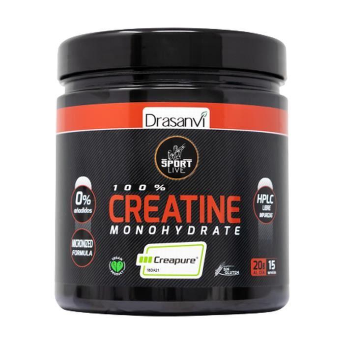 DRASANVI Creatine Creapure Sport Live 300 g