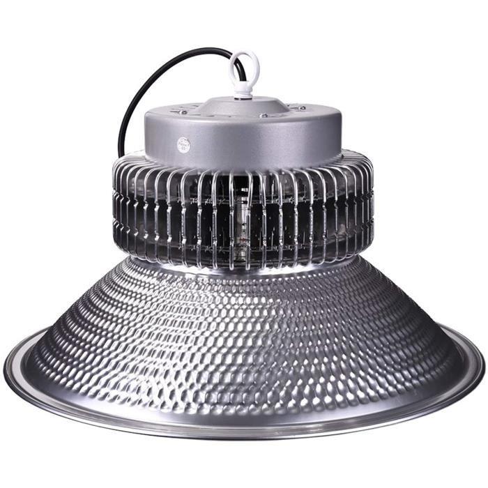 ECLAIRAGE ATELIER DK Multitec High Bay Cloche Armature a LED Cuisine Supermarchet Usine AtelierCloche industrielle LED 200WATT451