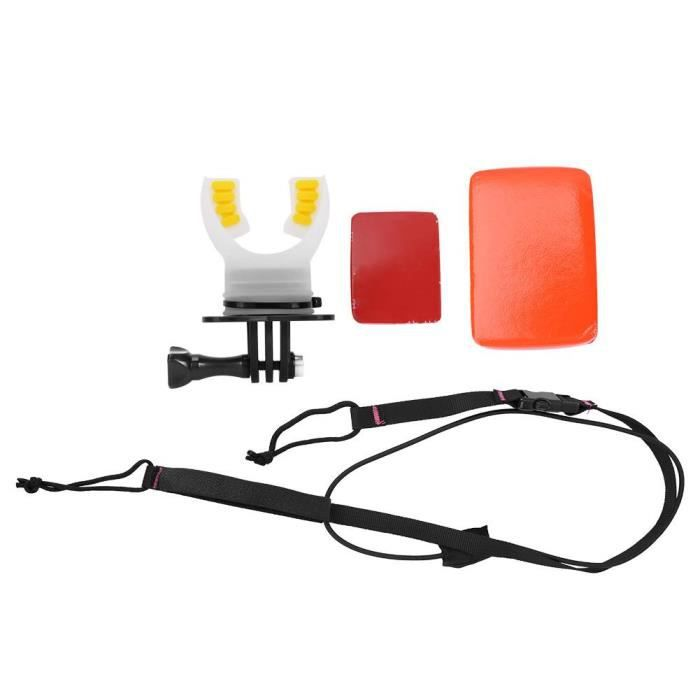 Mouth Bite Mount Surfing Diving Skating for Gopro for SJCAM for XiaoYi Action Camera (Noir)