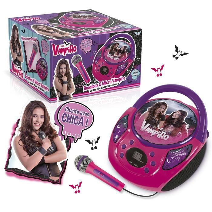 Canal Toys - Radio Lecteur CD - Chica Vampiro (+ Microphone)