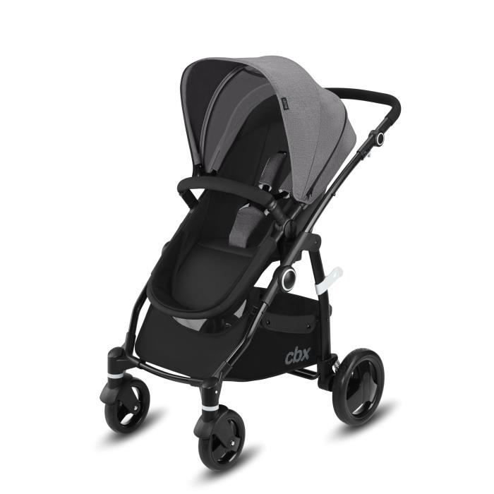 CBX Poussette Travel system Leotie pure - Comfy Grey