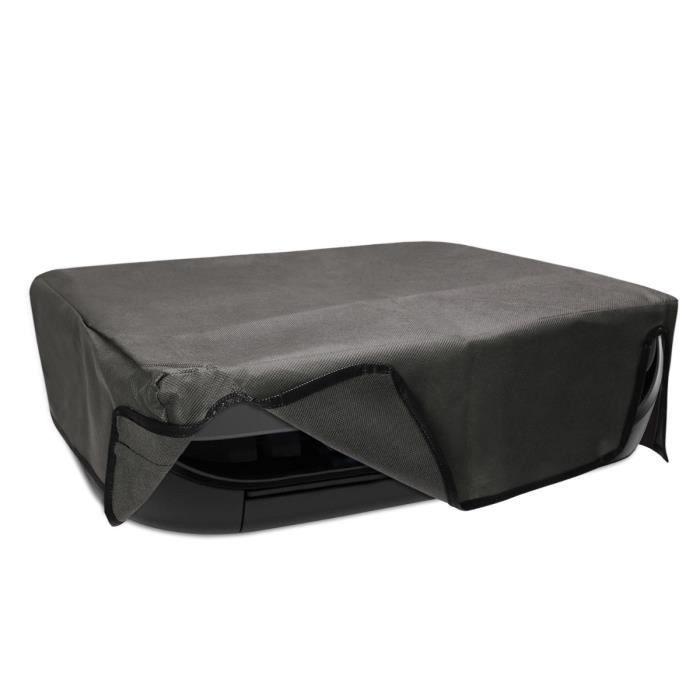 kwmobile Housse HP Envy 4525 - Housse de protection pour imprimante HP Envy 4525 - Étui gris foncé