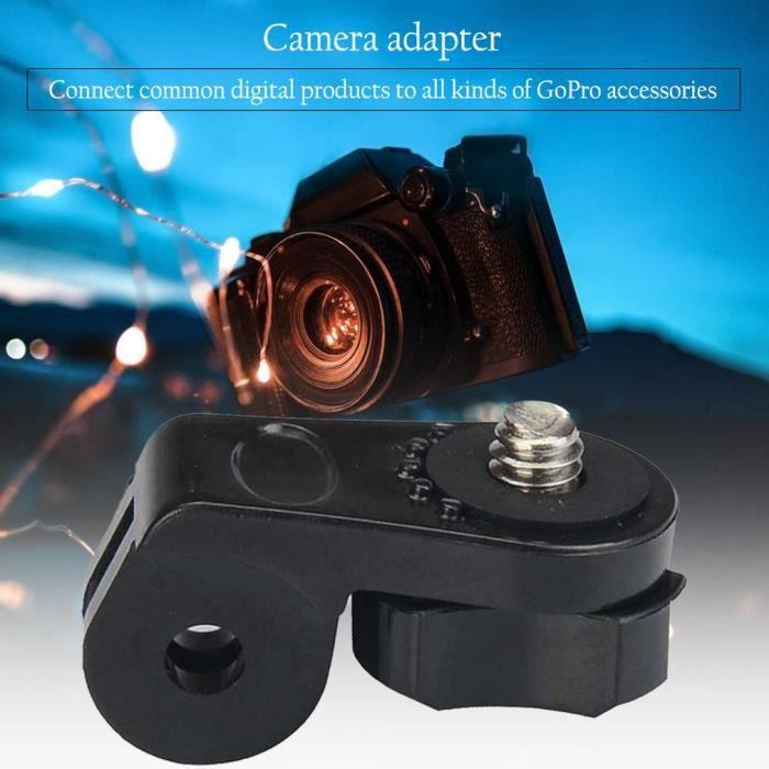 Adaptateur pour appareil photo Vis Trépied Adaptateur de Montage Caméra Sport pour Gopro Hero 2 3 3+ pour Sony Action Cam