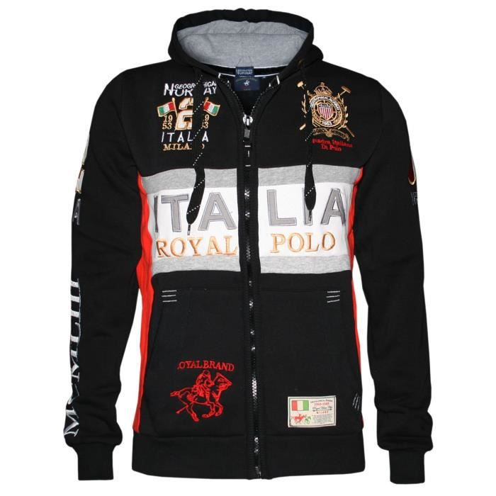 Geographical Norway Wk306h - gn Sweatshirt à capuche 3BNLXR Taille-XL-3XL