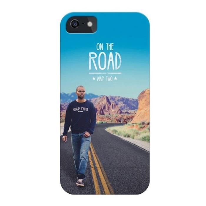 WT Coque de protection Tony Parker pour Samsung Galaxy Core Prime - Rigide - Décor Road