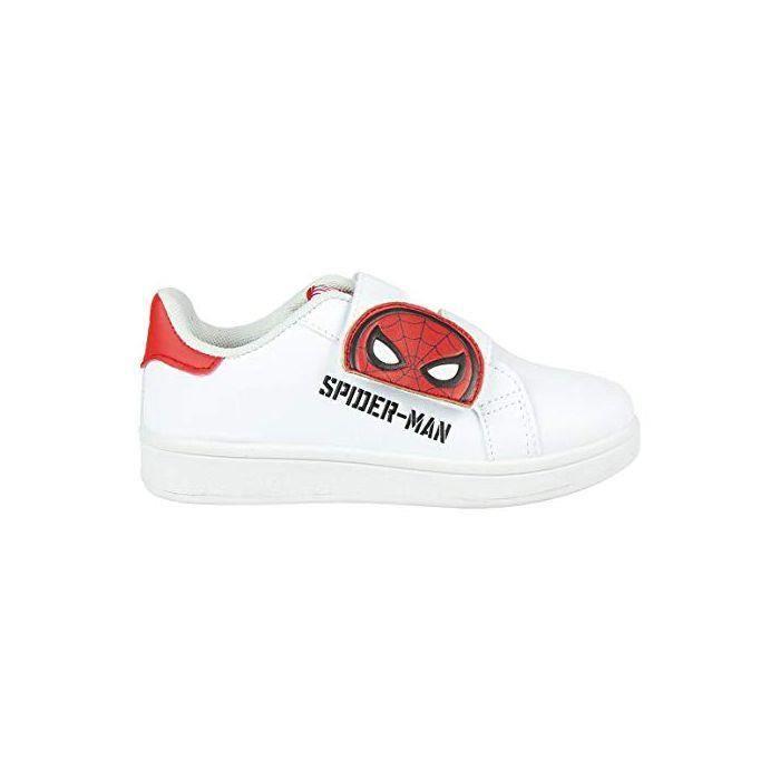 CRDÁ Life's Little Moments Cerdá - Chaussures de Sport Spiderman de Couleur Blanche, pour Enfants - - Blanc, 23 EU EU