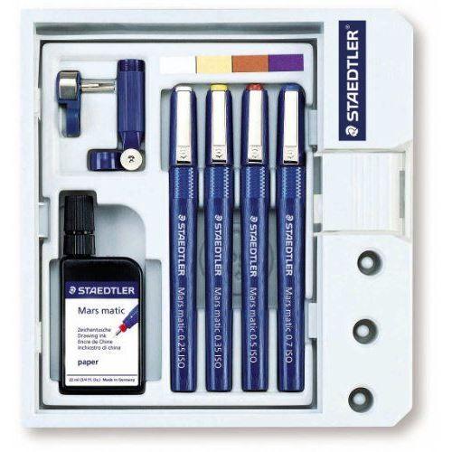 Staedtler 700 S4 M Kit de stylos à pointe tubul…