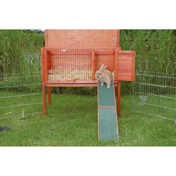 TRIXIE natura rampe en bois pour cages rongeur 20 × 50 cm
