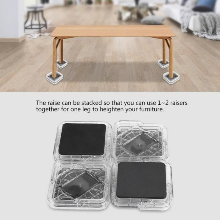 rehausseur pied table