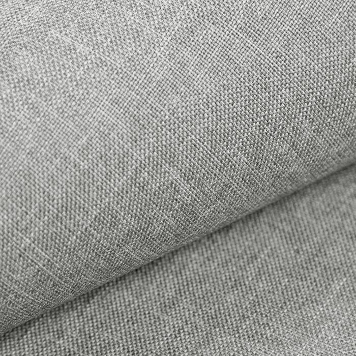 Beige Gris Argenté Élégant Rayures Fines Chenille Tapisserie d/'ameublement tissu au mètre