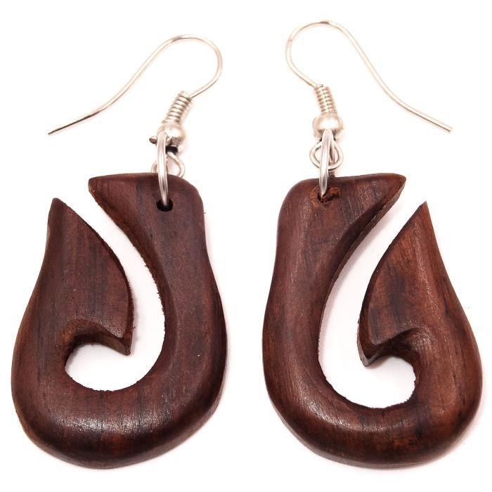 boucle d'oreille femme tribal