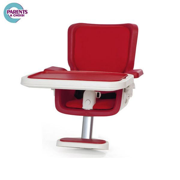 Assise chaise haute keyo intense red rouge achat vente for Assise pour chaise haute