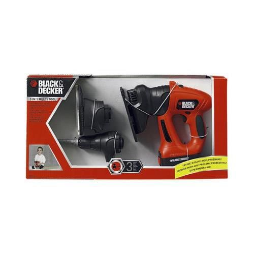 black decker outil 3en1 pour enfants achat vente bricolage tabli soldes cdiscount. Black Bedroom Furniture Sets. Home Design Ideas