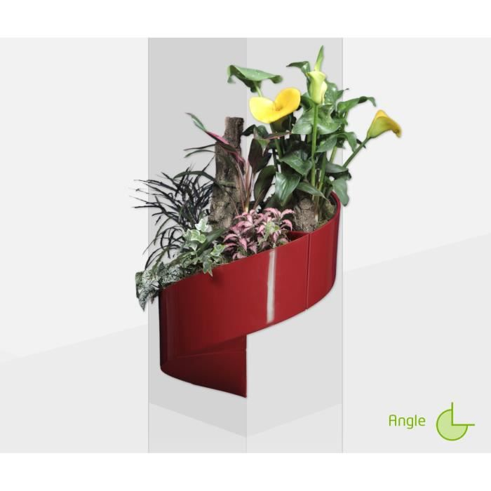 modul 39 green pot pour plantes mural design int rieur ext rieur 3 modules rouge achat. Black Bedroom Furniture Sets. Home Design Ideas